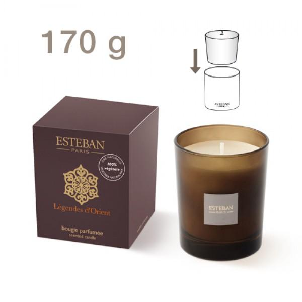 Esteban nachfüllbare Duftkerze - Légendes d'Orient