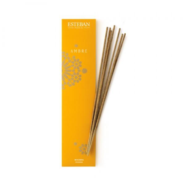Esteban - Bambus Räucherstäbchen Ambre
