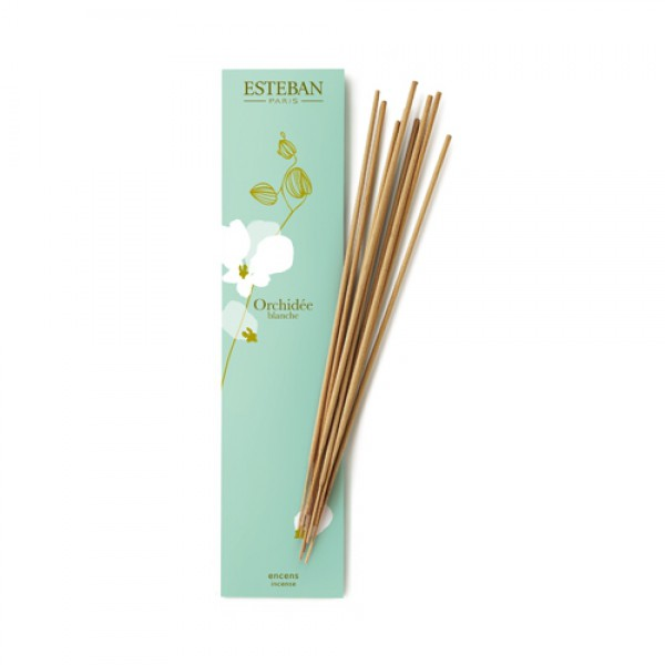 Esteban - Bambus Räucherstäbchen Orchidée blanche