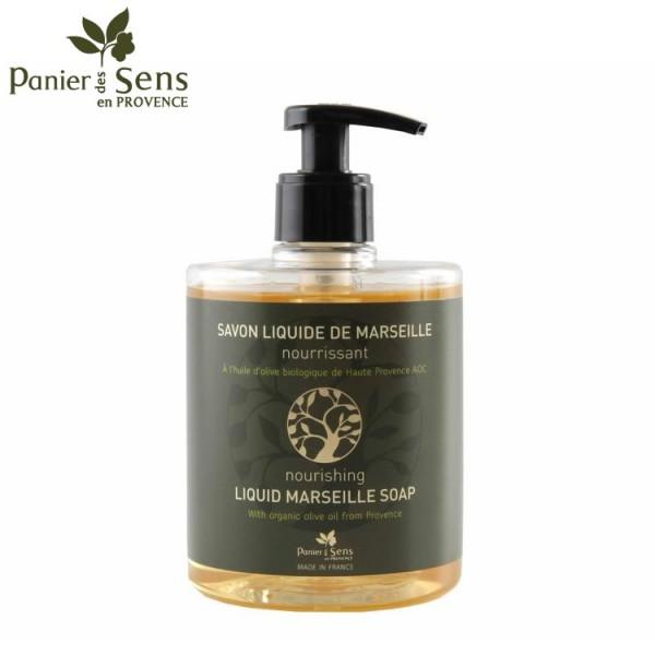 Panier des Sens - Flüssigseife aus Marseille mit biologischem Olivenöl - 500 ML