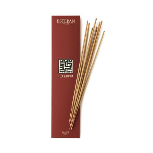 Esteban - Bambus Räucherstäbchen Teck & tonka
