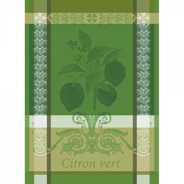 Garnier-Thiebaut Geschirrtuch CITRON VERT