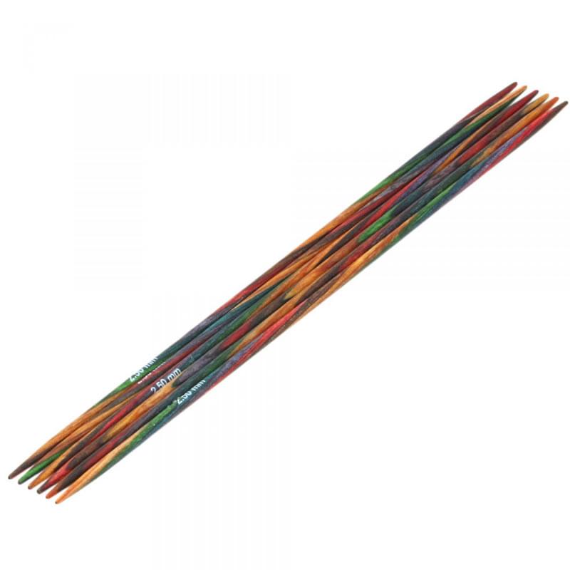 Design-Holz Strumpfstricknadel 20cm