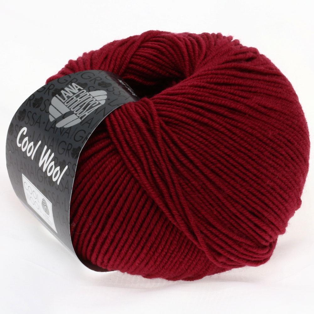 Lana Grossa Cool Wool - 468-Weinrot